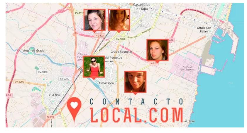 perfiles en contacto local